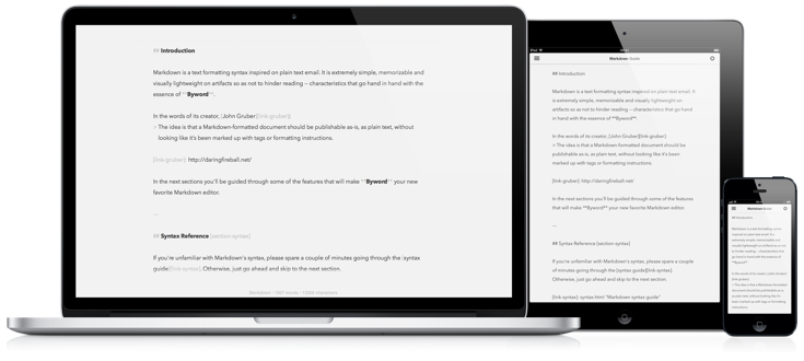 Byword Productivity Tool ResponseSuite