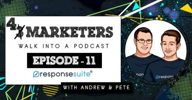 3 MARKETERS PODCAST - ANDREW AND PETE