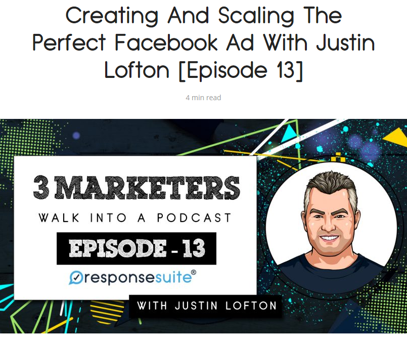 3 Marketers Podcast Justin Lofton