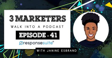 3 MARKETERS PODCAST - JANINE ESBRAND