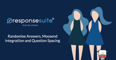 Moosend Integration, Randmise Answers and Question Spacing In ResponseSuite Surveys