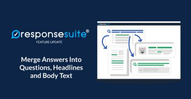 Merge Answers into Questions and Text